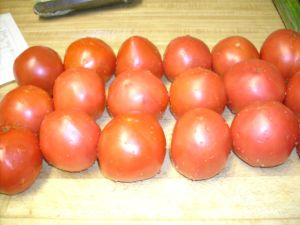 7 pounds of tomatoes for $4.75!