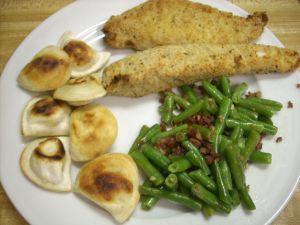469 calories, 9 fat, 34 carbs, 4 fiber, 58 protein