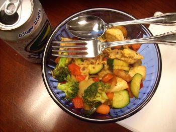 420 calories, 8 fat, 45 carbs, 7.0 fiber, 41 protein