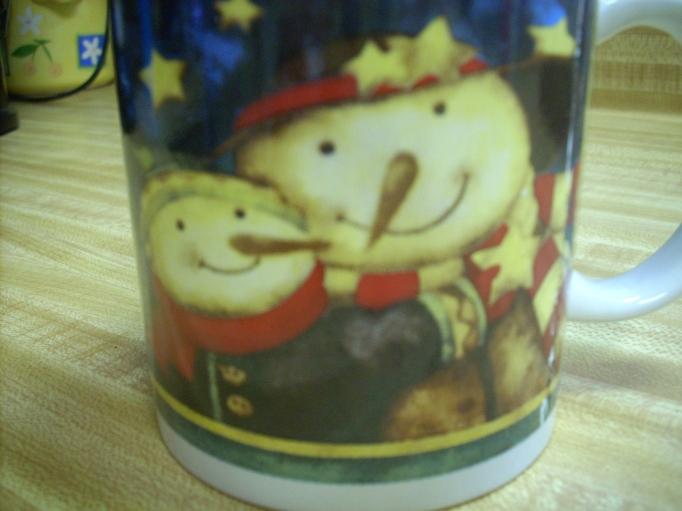 Yep, another snowman mug!