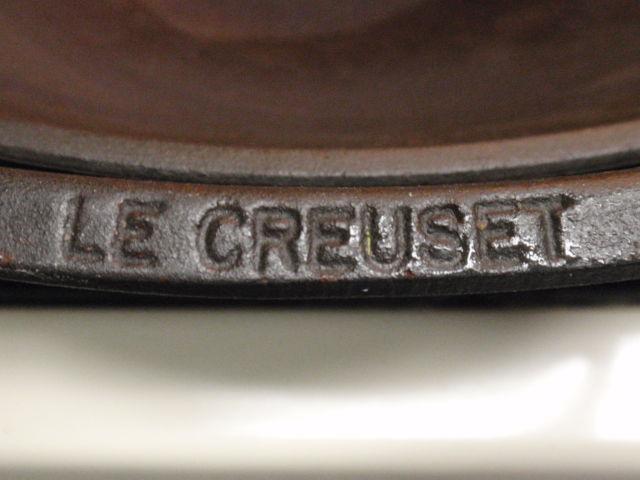 Yep, that's right.  Tony has a Le Creuset Cast Iron Wok Pan!!