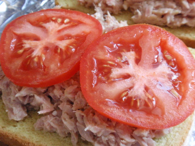 I love how sliced tomatoes look - wish I liked them!