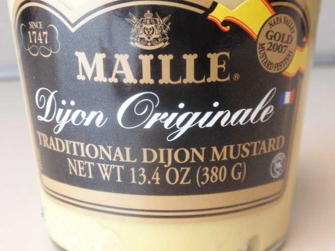 Hands down the best Dijon Mustard!  Originally $10, I got mine for $2.50!