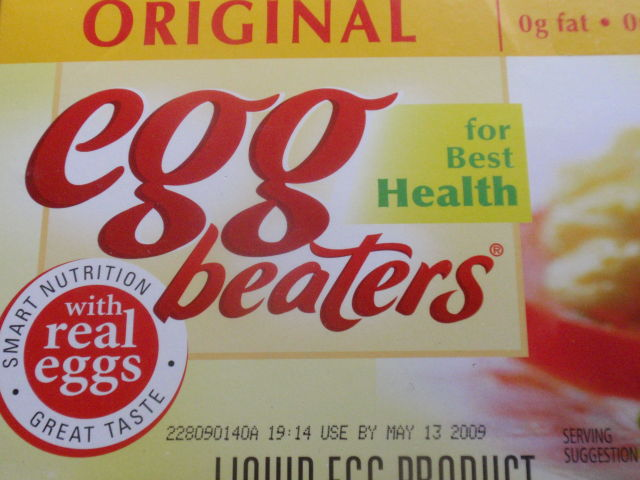 Best buy today: 4 pack of Egg Beaters for only $8.58!  Usually 1 package not on sale at my store is $3.99 each!