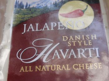 Jalapeno Havarti!  Nice and spicy!