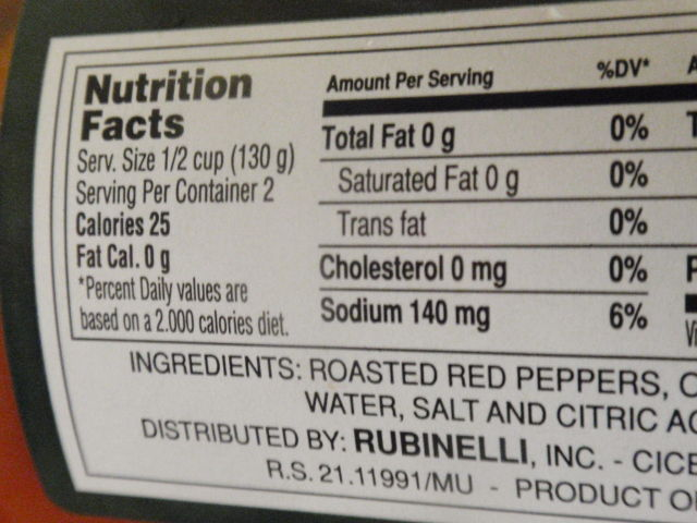 Even though these are packed in oil - it says 1/2 a jar is only 25 calories?  Not sure I believe that though!