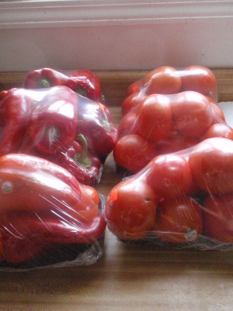 Definitely going to make roasted red pepper soup and pasta sauce - each package was only $1!