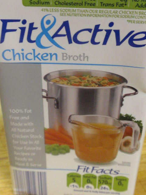 I'll never buy my chicken broth anywhere else - $1.29 for this 4 cup box!