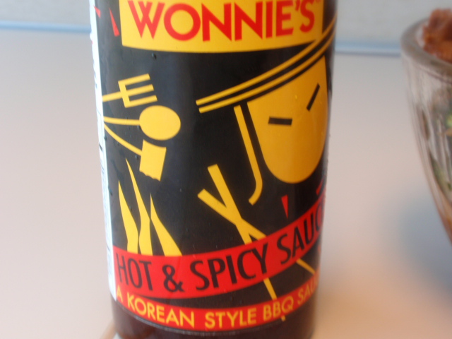 find this sauce if you can - so spicy good and only 20 calories per tablepoon!