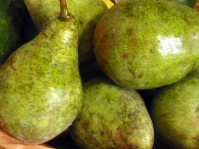 we also got 5 pears