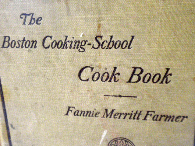 Fannie farmer recipes