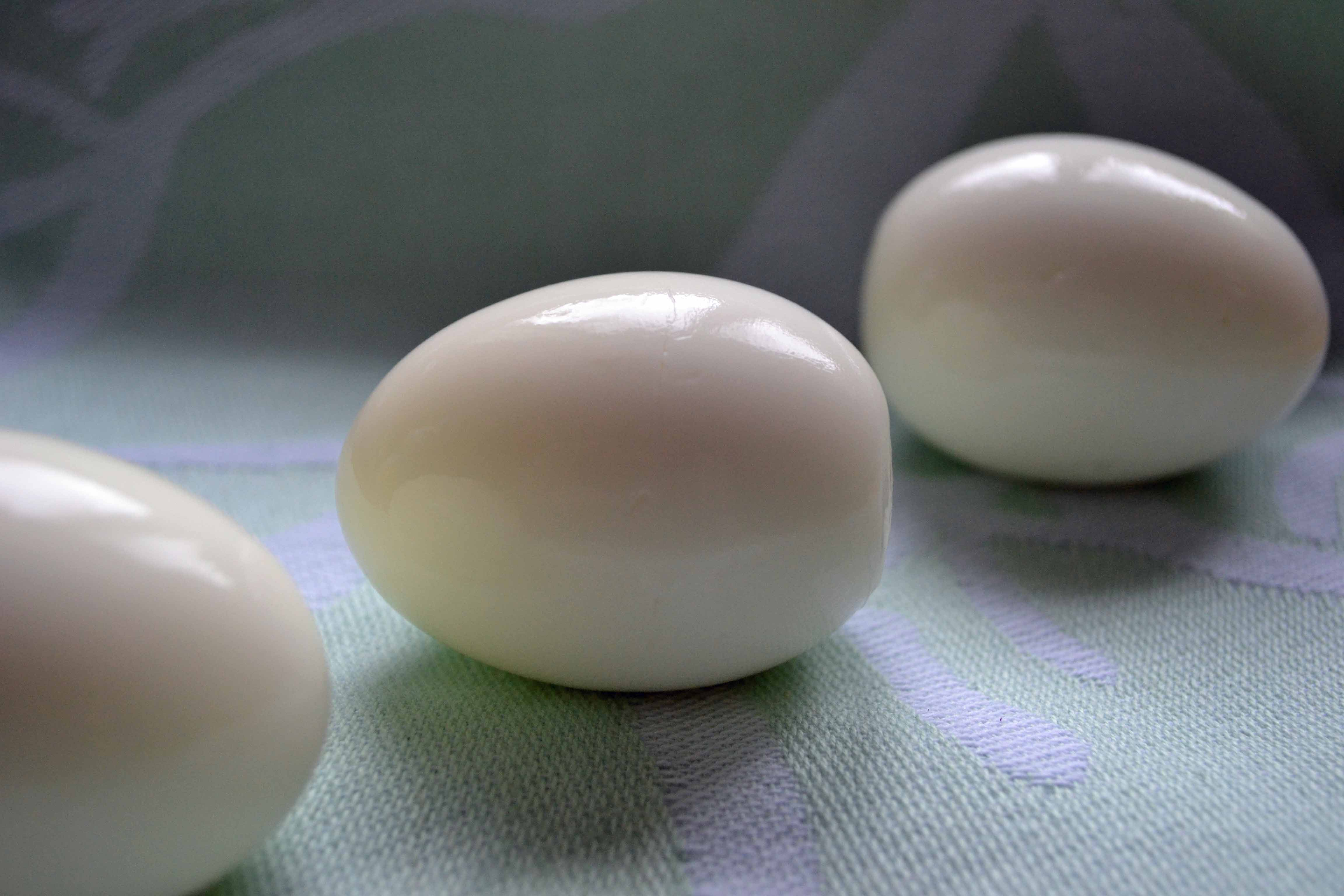 The Perfect Hard Boiled Egg | My Bizzy Kitchen