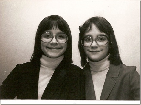 Beth and Jenn as kids