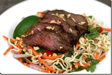 thai salad food
