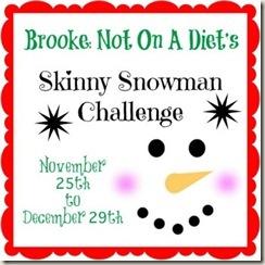 skinny snowman