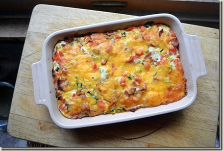 7 - canadian bacon breakfast casserole