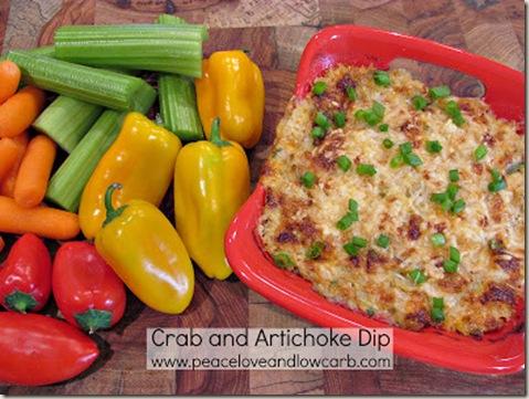 Crab and Artichoke Dip - Website Version