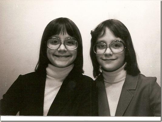 Beth and Jenn as kids